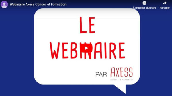 Axess Conseil et Formation innove encore :)